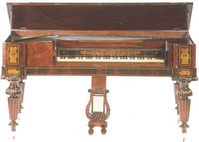 piano XIX siecle